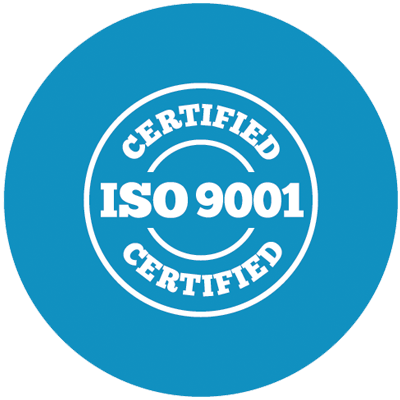 Wir sind ISO-9001-zertifiziert.
